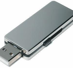 Glossy Metallic Slider USB
