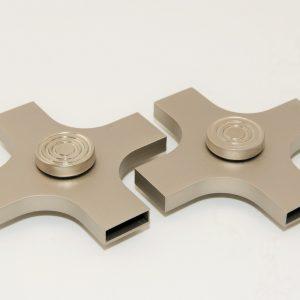 aluminium fidget spinner usb
