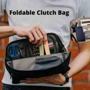Foldable Clutch Bag