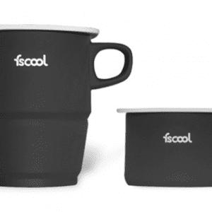 2 Fold Collapsible Mug with Holder