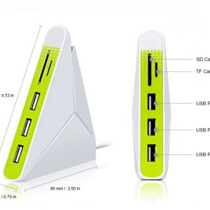Stand Up USB with Card Reader