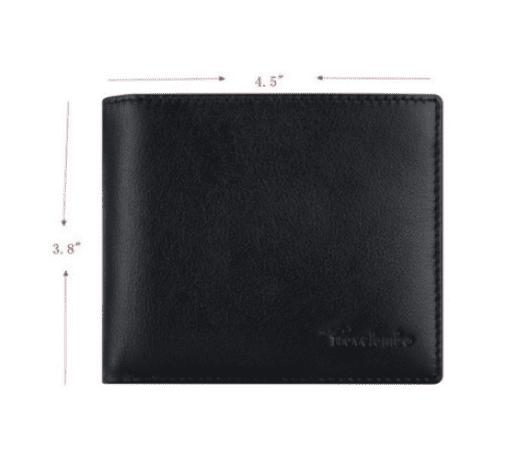 Anti RFID Leather Wallet