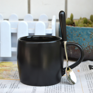 Euro Ceramic Mug With Lid Set