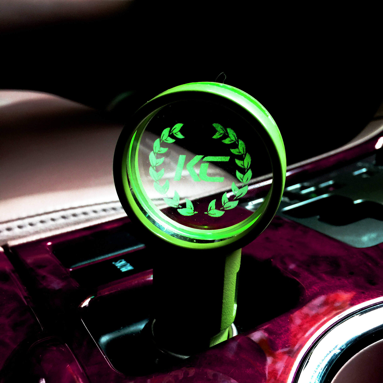 Light up Logo USB Car Charger