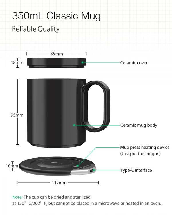 Mug Warmer Wireless Charger