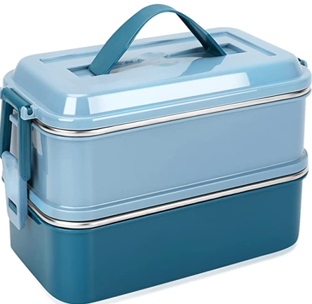 Metal Strada Thermal Lunch Box