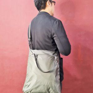 Self Fold Tote Sling Bag