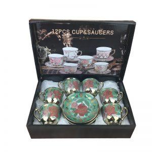 Tea Cup 12 Piece Gift Set