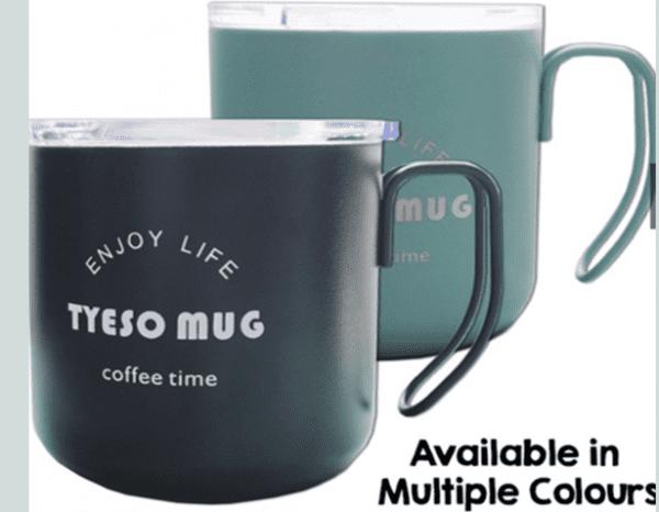 Curve Handle Thermal Coffee Mug