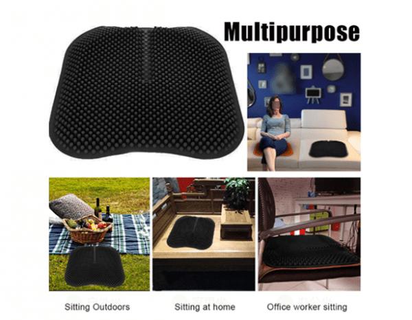 Honeycomb Soft Chair Seat Massager